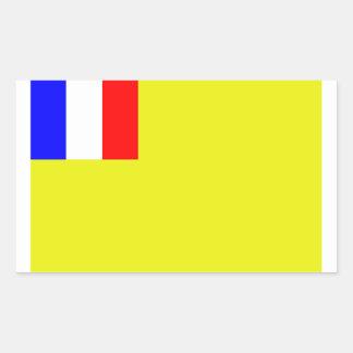 L'Indochine française Sticker Rectangulaire