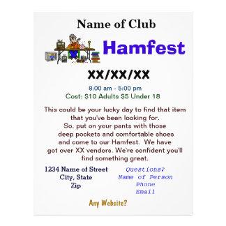 L insecte 2 de Hamfest a dégrossi avec la personna