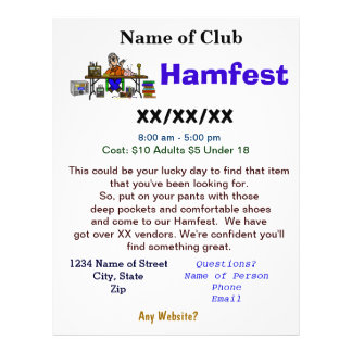 L insecte 2 de Hamfest a dégrossi avec la personna Tract