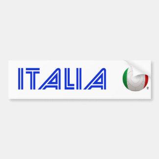L Italie - le football de Squadra Azzurra Adhésif Pour Voiture