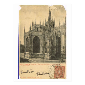 L Italie vintage Milan Duomo 1900