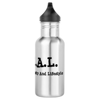 L.O.C.A.L. Bouteille d'eau d'acier inoxydable