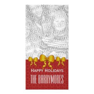 L or de GROUPON cintre le Joyeux Noël V9 Cartes Avec Photo