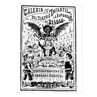 La Almoned del Diablo par José Guadalupe Carte Postale