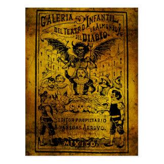 La Almoned del Diablo par José Guadalupe Posada Cartes Postales