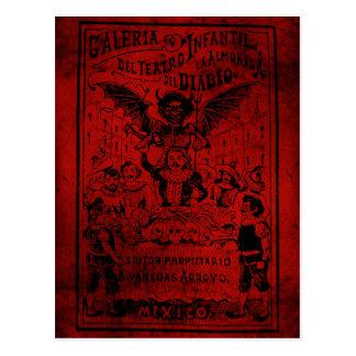 La Almoned del Diablo par José Guadalupe Posada Carte Postale