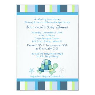 La baie de tortue barre l'invitation de baby