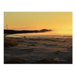 La baie des feux sur la Côte Est 2 de la Tasmanie Carte Postale