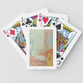 La baie et la rivière, 1901 (huile sur la toile) jeux de cartes