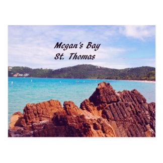 La baie St Thomas de Megan Carte Postale