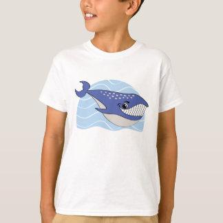 La baleine de sourire badine le T-shirt
