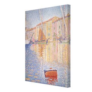 La balise rouge, saint Tropez, 1895 Toiles