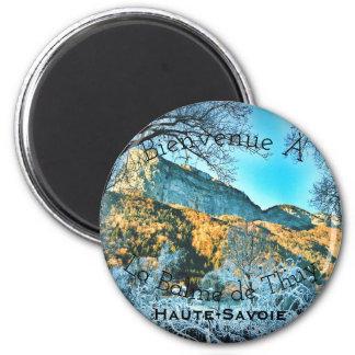 La Balme de Thuy, aimant rond de la Haute-Savoie