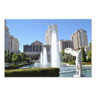 La bande de Las Vegas - fontaines Impressions Photographiques