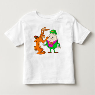 La bande dessinée Humpty Dumpty badine le T-shirt