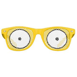 La bande dessinée observe les lunettes de soleil
