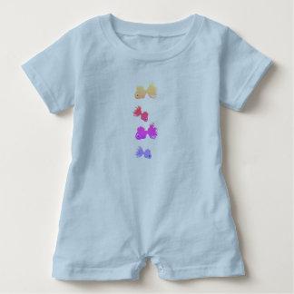 La barboteuse de bébé pêche le bleu