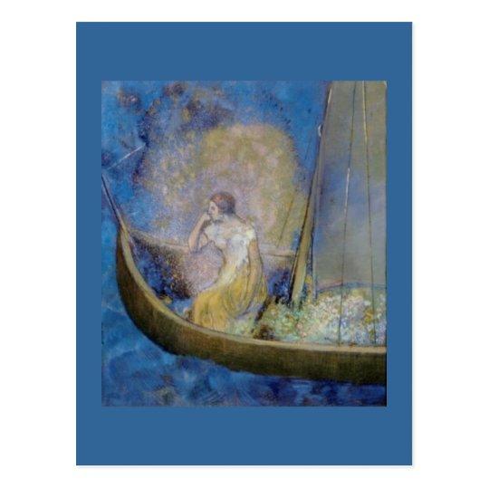 La barque Carte postale