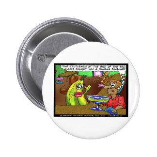 La barre de banane de singe pique les cadeaux etc. badge avec épingle