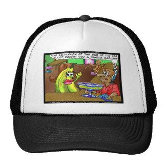 La barre de banane de singe pique les cadeaux etc. casquettes