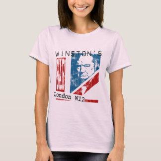La barre de Winston, Londres (regard porté) T-shirt