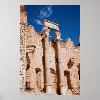 La basilique de Severan, Leptis Magna, Al Khums Posters