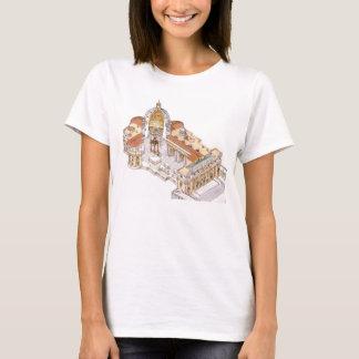 La basilique de St Peter. Ville du Vatican Rome. T-shirt