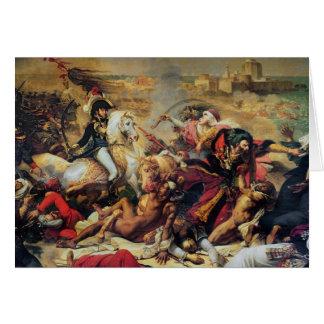 La bataille d'Aboukir, le 25 juillet 1799 Carte De Vœux
