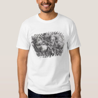La bataille d'Anghiari après Leonardo da Vinci T-shirt