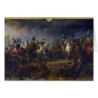 La bataille d'Austerlitz Carte De Vœux