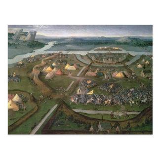 La bataille de Pavie en 1525, c.1530 Carte Postale
