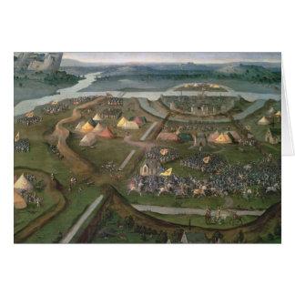 La bataille de Pavie en 1525, c.1530 Cartes
