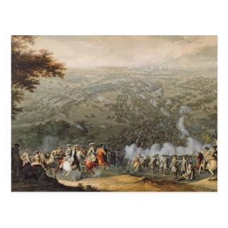 La bataille de Poltava 2 Carte Postale