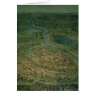 La bataille de Senta, à laquelle l'impérial Carte De Vœux