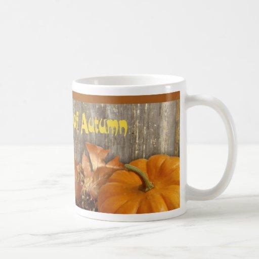 La beauté de la tasse d'automne