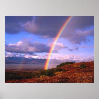 La beauté de l'arc-en-ciel poster