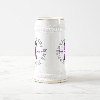 La beauté invisible, mais de présent se situe dans chope à bière
