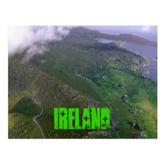 La belle côte irlandaise carte postale