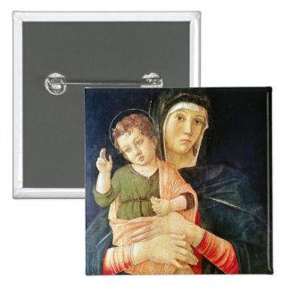 La bénédiction de Vierge et d'enfant, 1460-70 Pin's