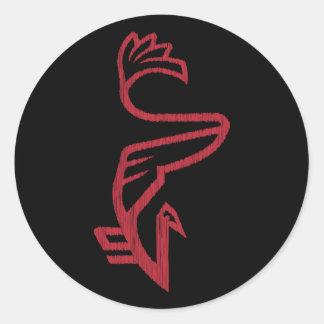 La BERD de Vanwizle Sticker Rond