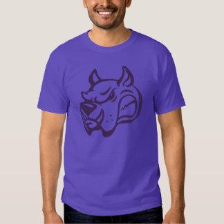 La BÊTE, chemise d'icône d'équipe (pourpre) T-shirt