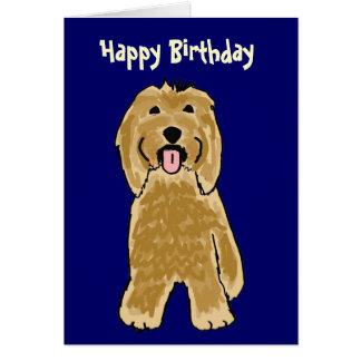La BG carte d'anniversaire barbue de colley