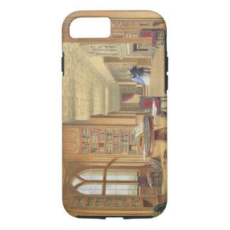 La bibliothèque, château de Windsor, 1838 (litho Coque iPhone 7