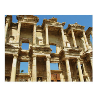La bibliothèque romaine de Celsus, Ephesus, Carte Postale