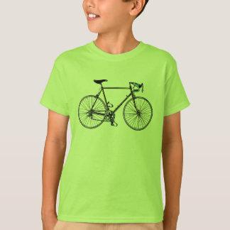 La bicyclette badine le T-shirt