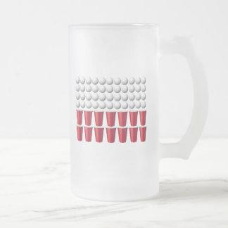 La bière Bong la tasse givrée par Polska