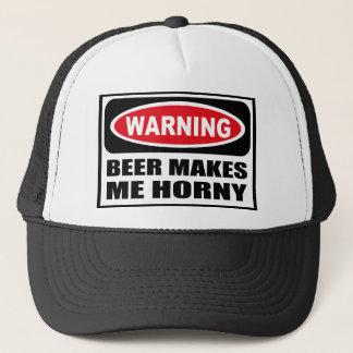 La BIÈRE d'avertissement ME FAIT le casquette