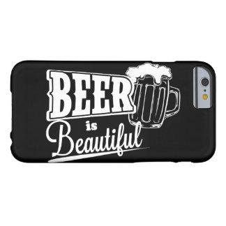 La bière est belle coque iPhone 6 barely there