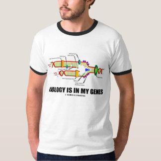 La biologie est dans mes gènes (la reproduction t-shirt