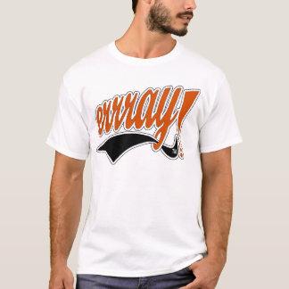 La Blanc-Pièce en t des hommes T-shirt